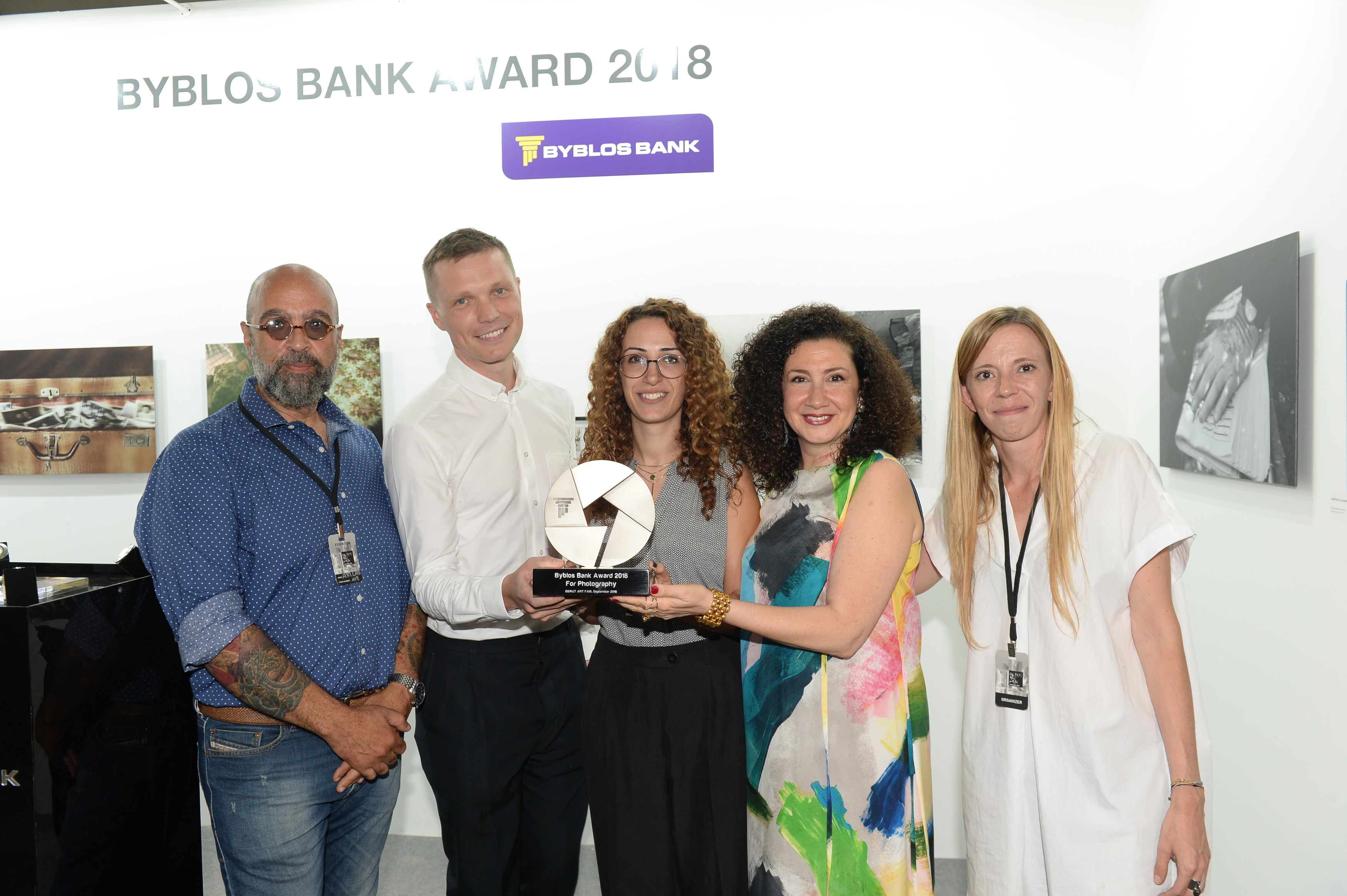 News Room | Betty Ketchedjian wins the 2018 Byblos Bank