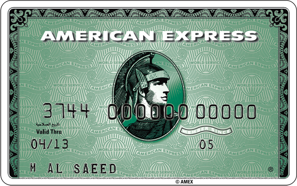 Personal Cards Charge American Express 174 Lebanon